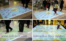 Low price interactive floor projection system 130 EFFECTS and necessary hardware for advertising