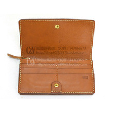 [C-5009] DIY handmade leather bag HERZ Bag Purse Wallet tanned leather pattern drawings drawings