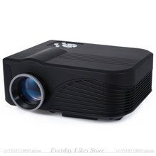 X9 LCD Projector 1000LM 800 x 480 Pixels with AV / Audio / HDMI / VGA / USB 2.0 / TF Card Slot razor-sharp images Remote Control