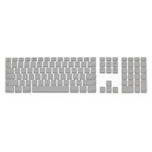Silicone Thin Keyboard Skin Cover Protector With Numeric Keypad For Apple iMac Silver(China)