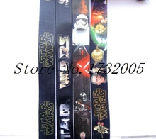 New 10 Pcs Popular Star Wars  Cello Phone Key Chain Neck Strap Keys  Lanyards Free Shipping Y20