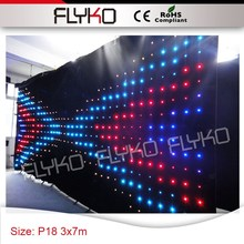 P18 backdrops led wedding lights good quality and best price led solar curtain lights