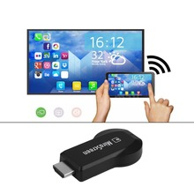 Hot New M2 Wireless HD WiFi Display Receiver DLNA Airplay Miracast DLAN Dongle HDMI 1080P USB With Wi-Fi 2 In 1 Cable