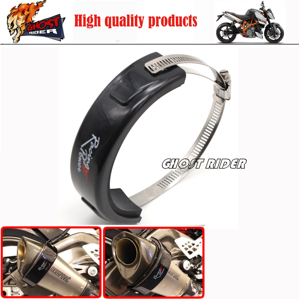 For HONDA CB400 CB750 CB1100 CB1300 VFR 800F Interceptor Motorcycle Accessories Exhaust Protector Can Cover<br><br>Aliexpress