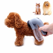 Cat Dog Pet Hair Fur Remover Shedding Grooming Brush Comb Vacuum Cleaner Trimmer(China)