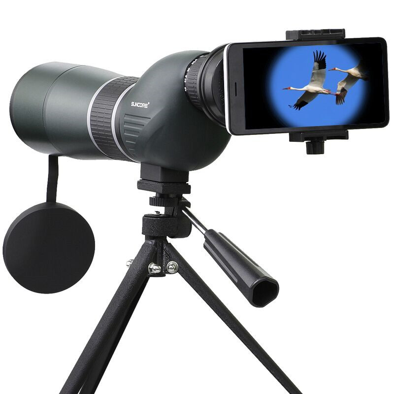 SUNCORE 12-36x50S Monocular Telescope HD Optic Zoom Lens Bird Watching High Definition View Eyepiece for Bird Watching Concert<br>
