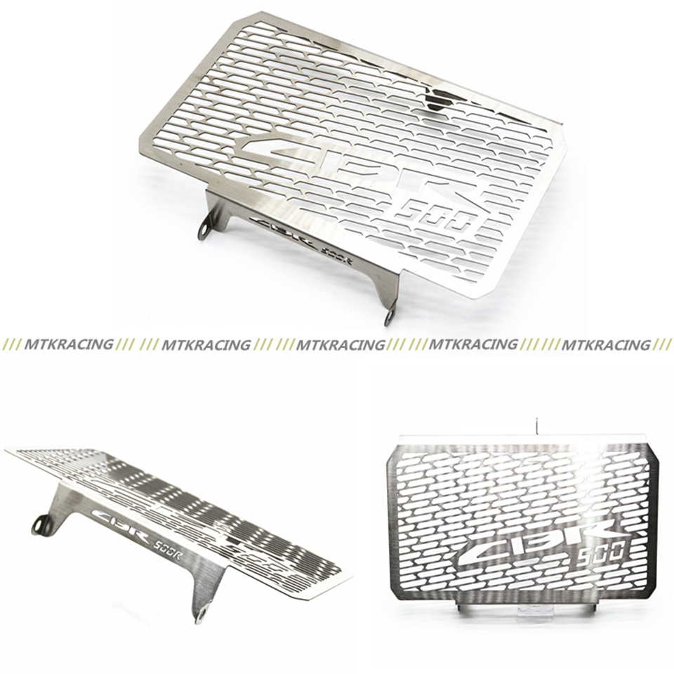 2016 New Arrival Stainless Steel Motorcycle Radiator Guard For HONDA CBR 500 500R CB500F CB500X Free shipping<br>