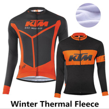 Buy 2016 New Unisex Pro Team Bresthable Winter fleece thermal cycling jersey Bike Clothes Mtb maillot ropa ciclismo invierno for $20.45 in AliExpress store
