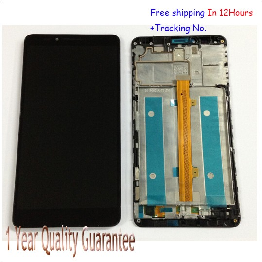 100% Original For huawei mate 7 mate7 LCD Display Touch Screen Digitizer with frame Replacement  best quality Tested ok!<br><br>Aliexpress
