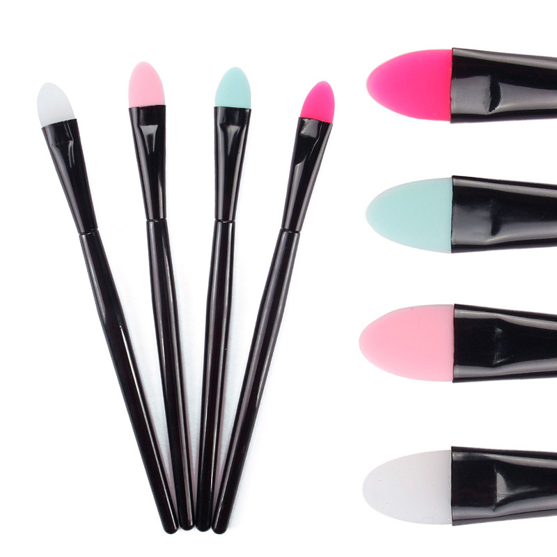 Silicone makeup brush