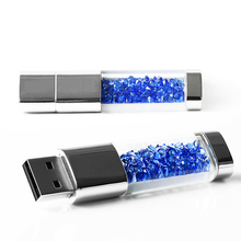 New fashion diamond usb flash drive Crystal series pen drive Waterproof usb stick Gift USB Flash Drive 64GB 32GB 16GB 8GB 4GB