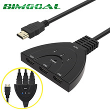 Buy HDMI 3X1 3 Port IN 1 OUT Pigtail HDMI Switch HDCP 1080P HD Hub V1.4B HDMI Switcher Splitter Adapter Cable HDTV XBOX PS3 PC for $7.13 in AliExpress store