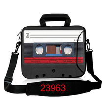 "10 12"" 13"" 14"" 15"" 17 Inch Audio Recorder Netbook Laptop Bag Cover Case Pouch Sleeve Protector Briefcase shoulder Messenger bag"