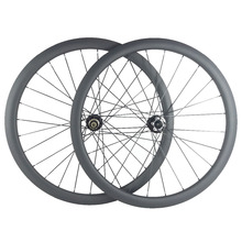 700c 38mm tubeless U shape road disc carbon wheels clincher wheelset UD 3K 12K matte glossy front QR 12mm 15mm rear 135mm 142mm