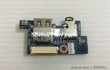 Original Audio IO board for Lenovo B50 B50-30 B50-45 B50-70 Laptop audio + USB port daughter board ZIWB2 LS-B096P board