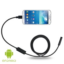 8MM 6 LEDs 720P USB Laptop Android PC Car Endoscope Waterproof Inspection With 1M/2M/5M Cable CD Driver Borescope Video Camera
