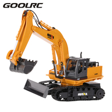Buy Original TOYS NO.1510 2.4GHz 11CH Alloy Engineering Electronic Excavator Heavy Machinery RC Toys Car Truck for $66.50 in AliExpress store