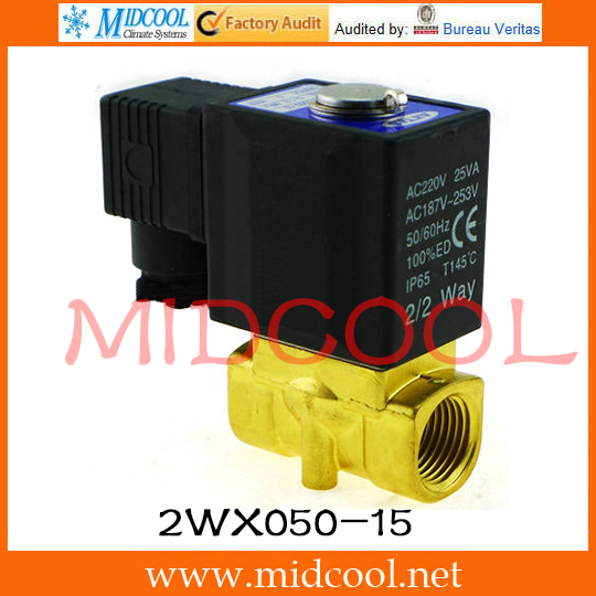 Original AirTAC Fluid control valve (2/2way) 2W Series (Direct-acting and normally closed) 2WX050-15<br>