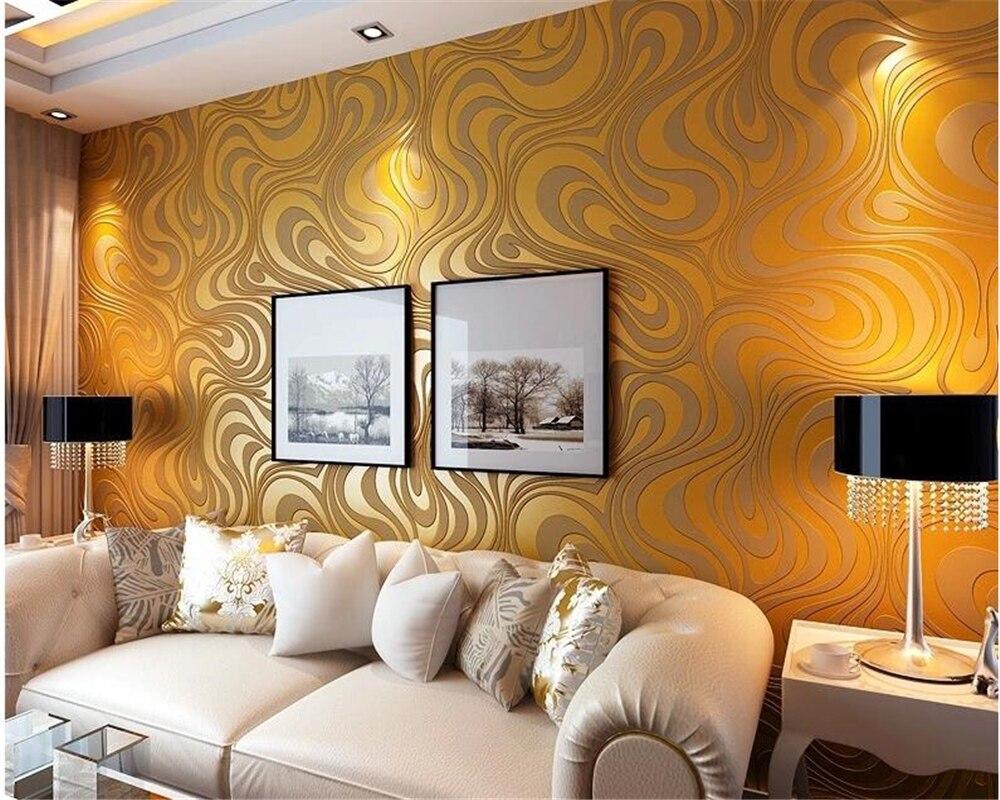beibehang Modern Simple Non - woven Wallpaper Striped Bedroom Living Room TV Background Wallpaper 3D papel de parede wall paper <br>