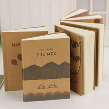 1PC Lovely Old Paiting Notebook Stationery Daily Notes Office School Supplies