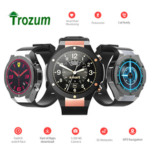 Trpzum 2017 H2 Smart Watch MTK6580 IP68 Waterproof 1.40 inch 400*400 GPS Wifi 5MP Camera Smartwatch Android iOS Phone - TROZUM Store store