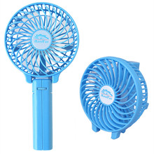 Mini Wireless Rechargeable Handheld Battery &USB Operated Electric Personal Cooler Cooling Foldable Hand Bar Desktop Fan