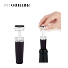 GUH 1Pcs Red Wine Champagne Bottle Air Pump Stoppers Vacuum Sealed Saver Wine Vacuum Stopper Bar Tools Wine Stopper YLJS1701(China)