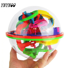 (YNYNOO)New 3D Puzzle Ball Maze Ball 138 Barriers Space Intellect Game Stages Kids boy girl Toy Gift(China)