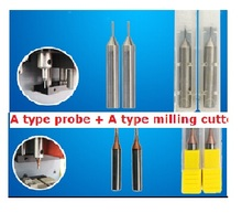 Best Quality A type probe + A type milling cutter For Key Cutting Machine Sec-E9 key machine