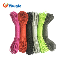 YOUGLE New 7 Core Strand 50 100FT Survival 550 Mil Spec III Reflective Parachute Cord Paracord(China)