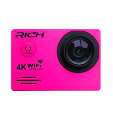 RICH J550R 4K 2.7K 1080P Action Camera 16MP WiFi Sports Cameras 30M Waterproof 2.0LCD Full HD Car DVR 170 Cheap price