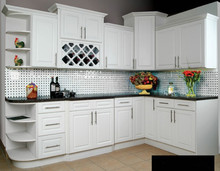 matt white lacquer painting kitchen furniture(China)