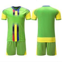 New design soccer jersey & shorts training suit football uniform men short sleeved tracksuit Sportswear