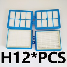 4PCS/LOT HEPA FILTER 12  for Philips  Performer Pro FC FC9174 FC9150 FC9170 FC9195 FC8031 vacuum cleaner filter