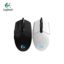 Logitech G102 Wired Mouse for Windows 10/8/7 Wired Game Mouse with 6000dpi Optical RGB lights for PC / Desktop Official Genuine(China)