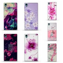 For Case Sony Xperia Z3 Cover Soft TPU Silicon Cases 3D Pattern Phone Back Case For Sony Xperia Z3 D6603 D6643 D6653 Coque Funda