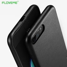 FLOVEME Vintage Leather Case For Apple iPhone 6 6S 7 Plus 7Plus Luxury Mobile Phone Back Cover  Brand For iPhone6 Plus Cases