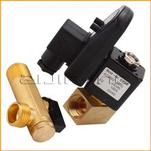 "1/2"" AC 380V 2-way Automatic Electronic Timed Drain Valve for Filter Separator Dryer Gas Tank(China)"
