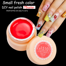 Buy MDSKL Gel Lacquer 5ML 75 Pure Colors UV Gel Manicure DIY Nail Art Tips Gel Polish Design 50618 Nail Painting Color Gel Varnish for $1.02 in AliExpress store
