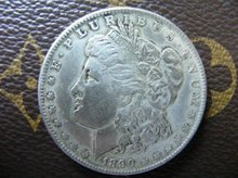 1890-CC morgan dollar silver coin(China)