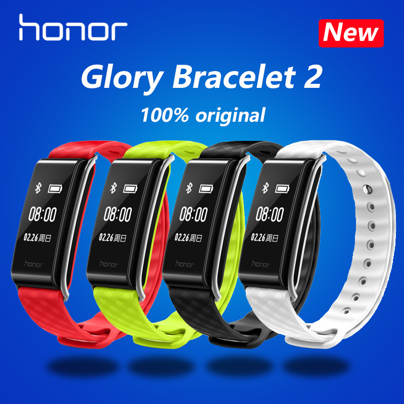 New original HUAWEI glory Glory play Bracelet A2 Running time, exercise, heart rate monitoring For Android xiaomi Bracelet 2 IOS<br>