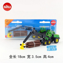 SIKU/Die Cast Metal Model/Simulation toy:Engineering Lorry Harvester timber grab/for children's gift or collection