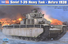 "Hobby Boss 1/35 scale tank models 83842 Soviet T-35 heavy truck "" 1938 years ago production type ""(China)"