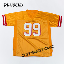 Retro star #99 Warren Sapp Embroidered Throwback Football Jersey(China)