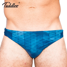Buy Taddlee Brand Sexy Swimwear Men Swimming Briefs Bikini Gay Penis Pouch Men's Swimsuits Swim Surf Board Beach Bathing Suits New