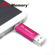 Dr.memory Rose pink USB Flash Drive 4gb 8gb 16gb 32gb 2.0 metal OTG pen Drive For Samsung S3 S4 Flash Memory Stick