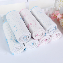 1PCS New Baby Kids Reusable Waterproof Mattress Bedding Diapering Changing Mat Washable breathable cotton 2 Colors(China)