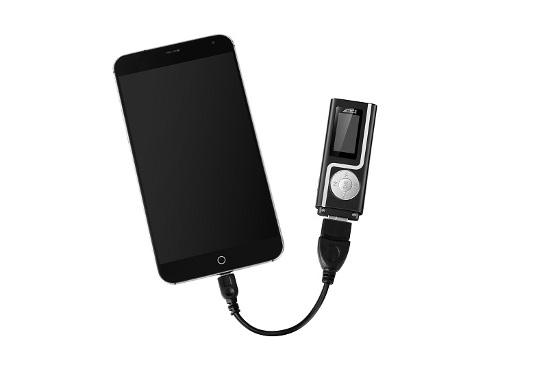 1GERUIDA MP3 Player Faster Charge USB MP3 Mini Music Player Also U Disk 2G4G8G With FM Recording  OTG Lanyard  (6)