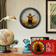 It is American country retro living room wall clock antique European watch clock Nordic nostalgia Jane(China)