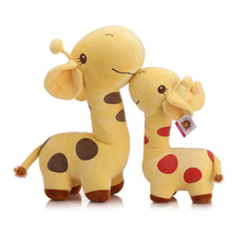 Plush Giraffe Plush Toy Stuffed Toy Girls Valentine Gifts Kids Peluches Soft Doll Cute Giraffe Stuffed Animal Lovely 70C0155(China)